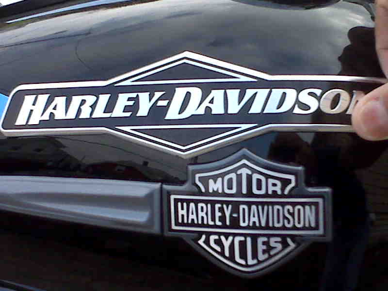 World's ugliest tank badge? - Page 5 - Harley Davidson Forums